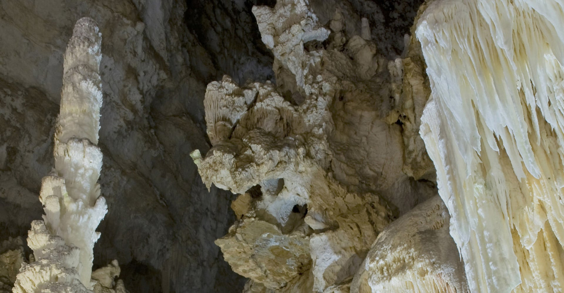 The caves of Frasassi